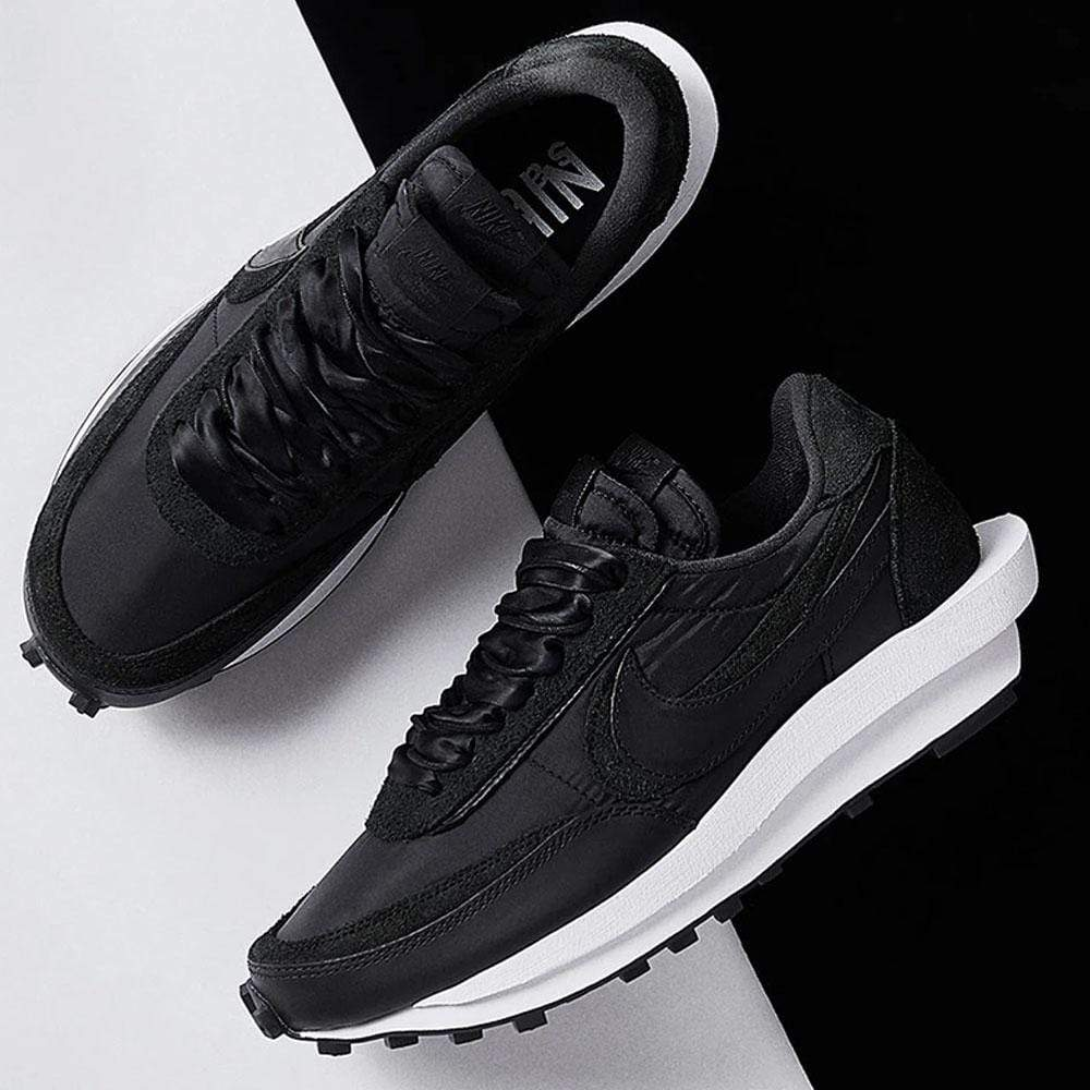 Sacai x Nike LDWaffle 'Black Nylon' - Kick Game