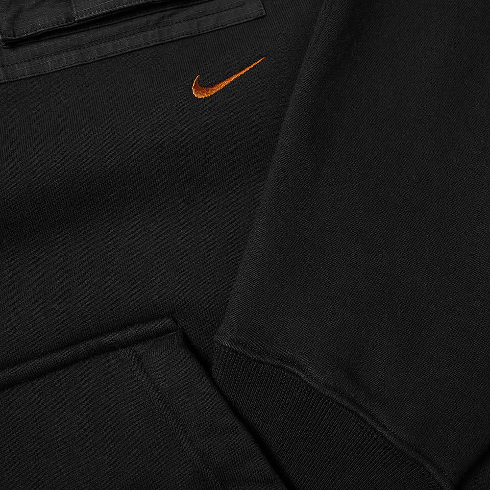 Travis Scott x Nike NRG AG Utility Hoodie Black - Kick Game