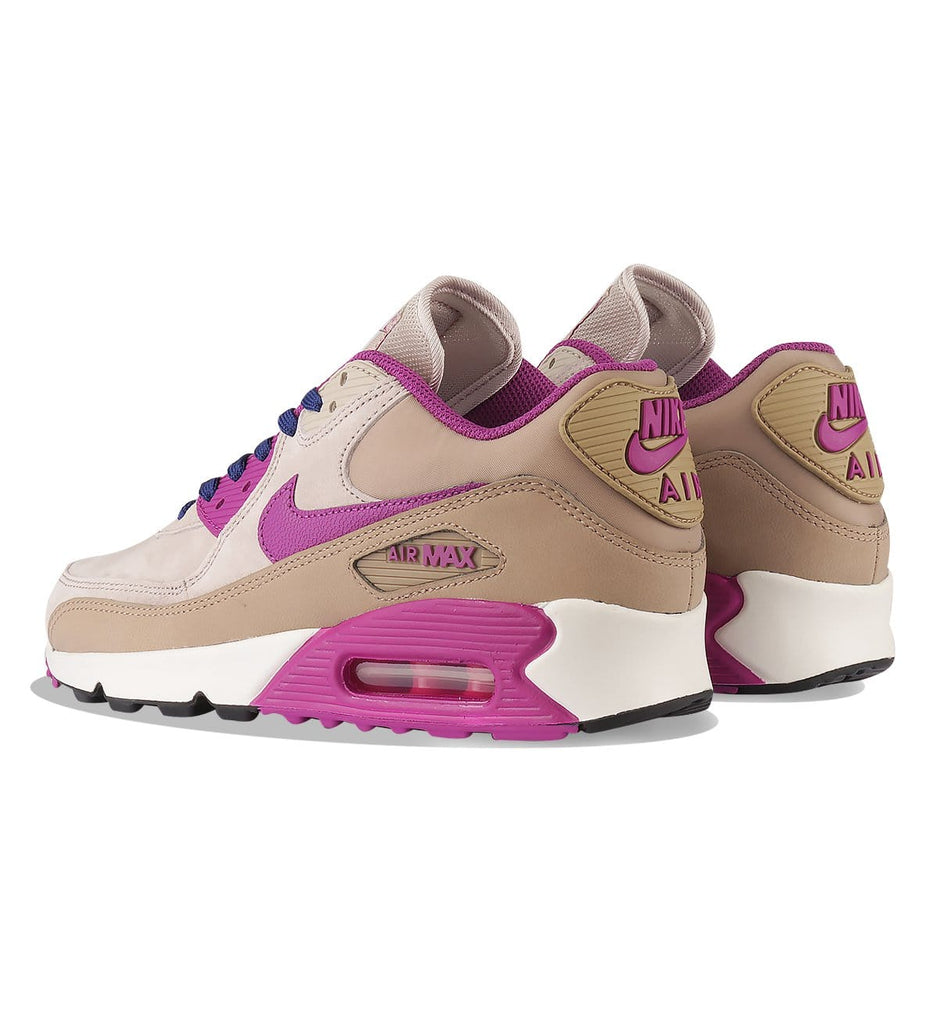 Nike WMNS Air Max 90 LTR Desert Cream - Purple Dusk - Kick Game