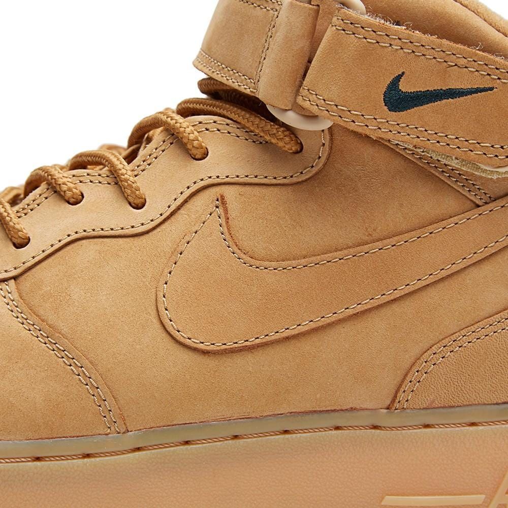 NIKE AIR FORCE 1 MID '07 PREMIUM QS 'WHEAT' - Kick Game