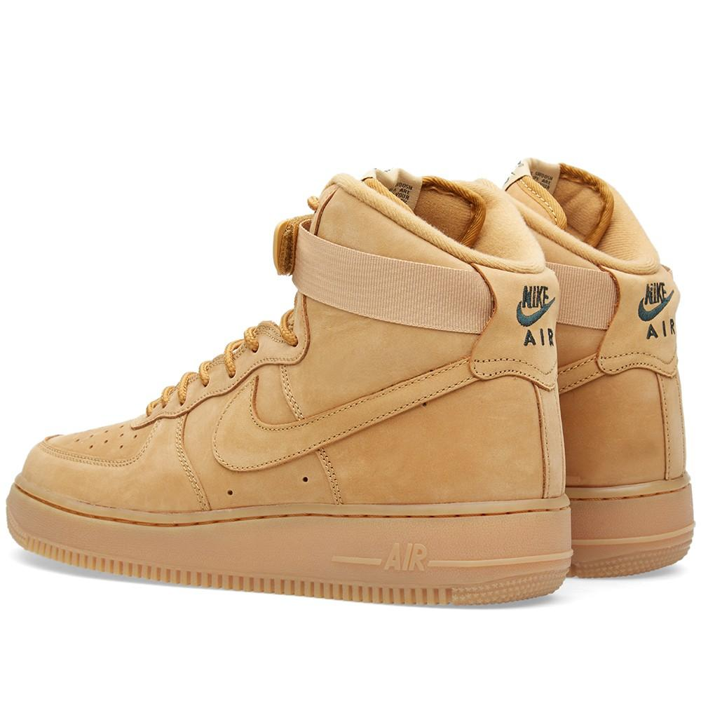 NIKE AIR FORCE 1 HIGH '07 LV8 Flax & Outdoor Green - Kick Game