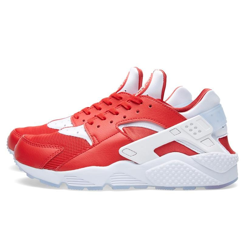NIKE AIR HUARACHE RUN 'MILAN' University Red & White - Kick Game