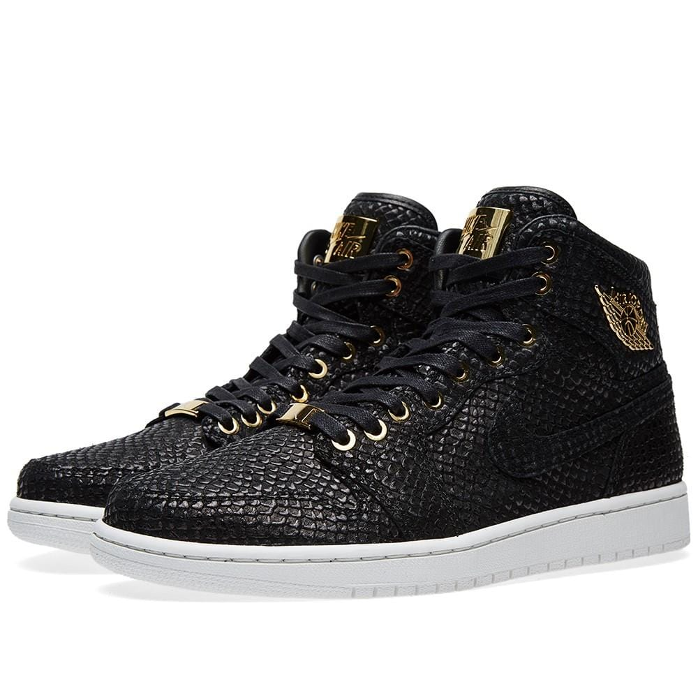 low cost 24f2e 20ea3 Air Jordan 1 Pinnacle 'Black & Metallic Gold' – Kick Game