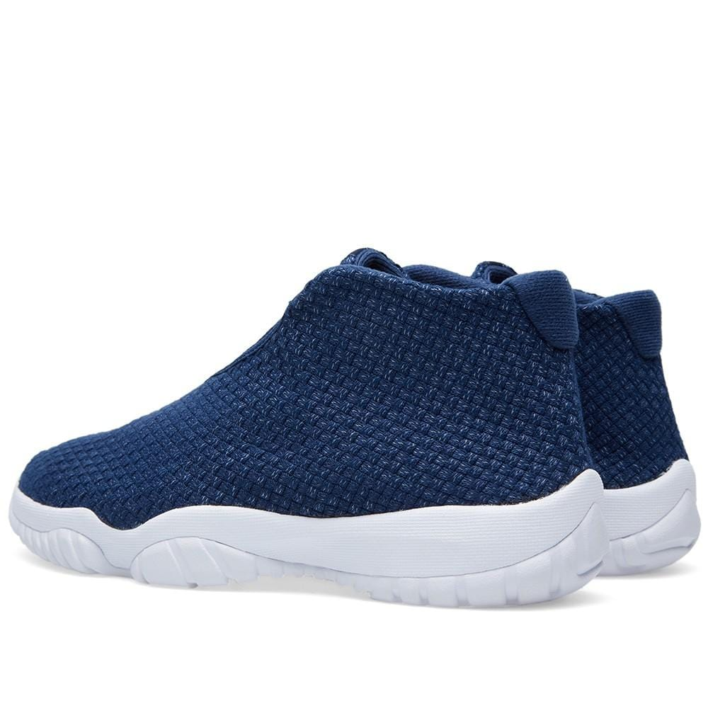 Air Jordan Future Midnight Navy & White - Kick Game