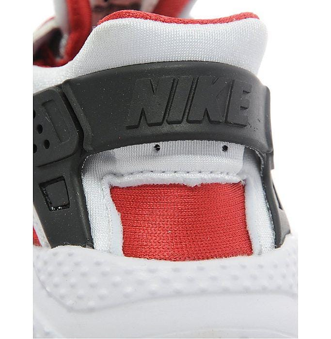 Nike Air Huarache Toddlers 'Wolf Grey-Bright Crimson-Black' - Kick Game