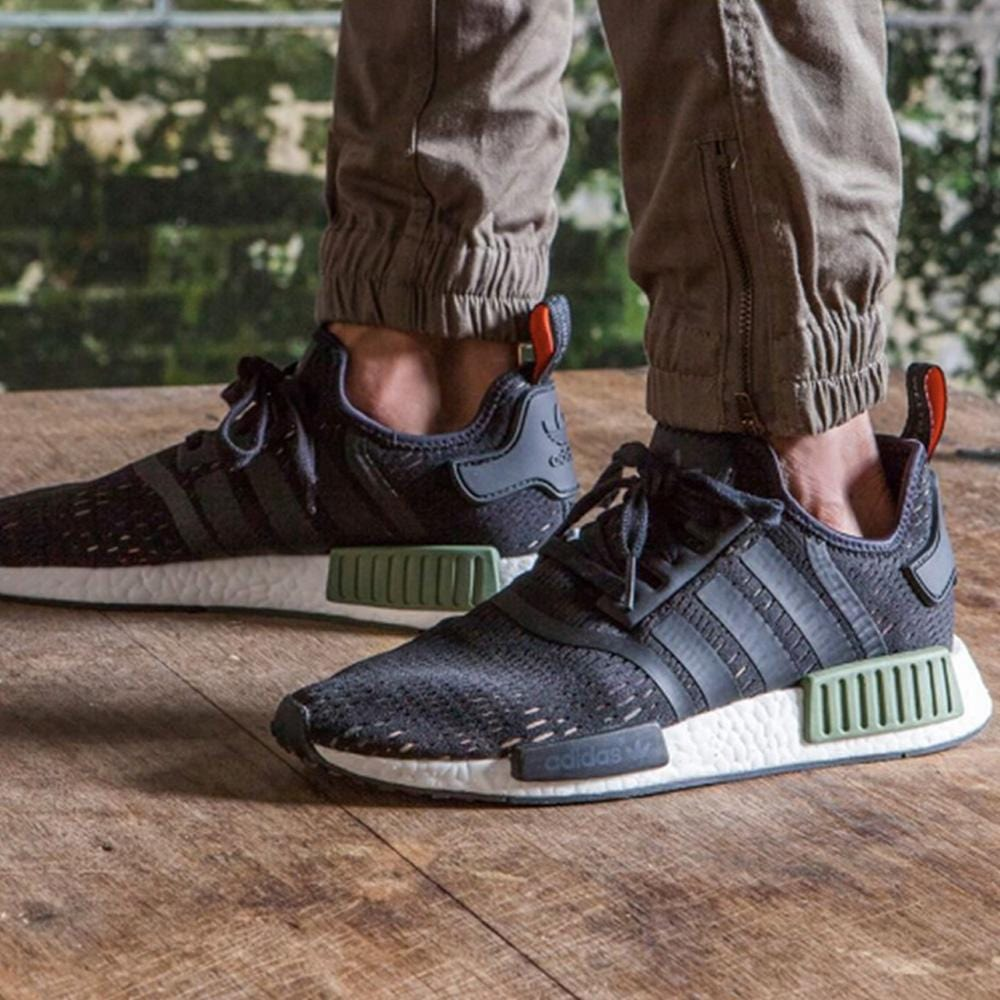 outlet boutique united kingdom classic styles Adidas NMD R1 'Base Green'