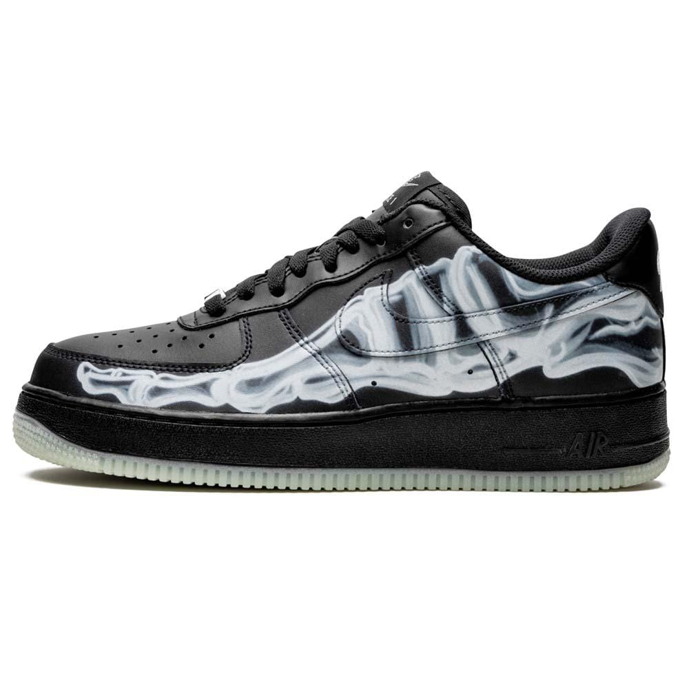 Nike Air Force 1 '07 QS 'Black Skeleton' - Kick Game