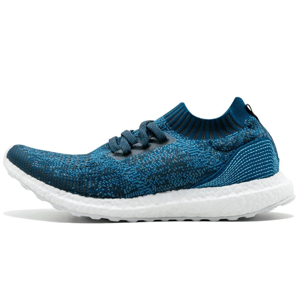 new arrival f8d89 0ceb9 Parley x adidas Ultra Boost Uncaged Legend Blue