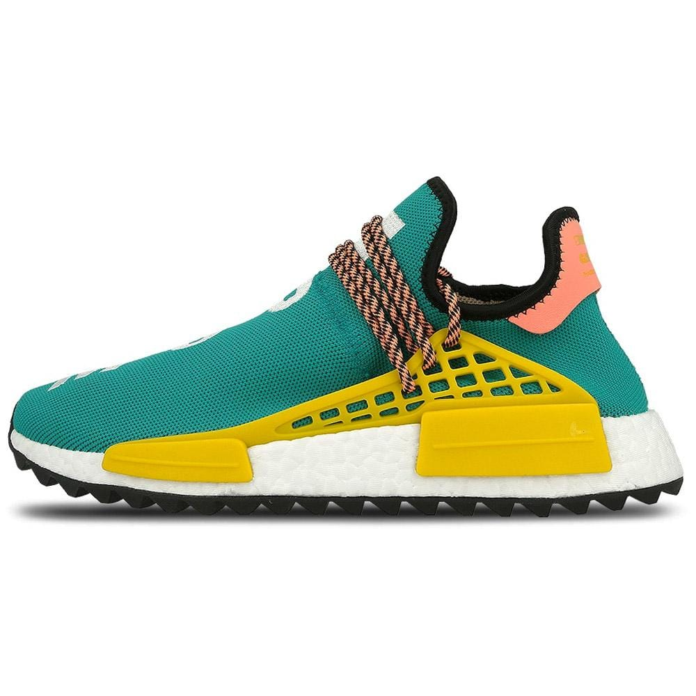 sale retailer 6094c cd58a Pharrell Williams x adidas NMD HU Trail Sun Glow-EQT Yellow