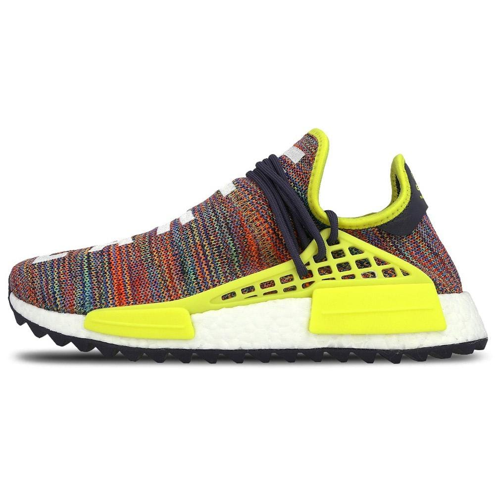 cheaper sneakers detailed pictures Pharrell Williams x adidas NMD Human Race Trail Multi