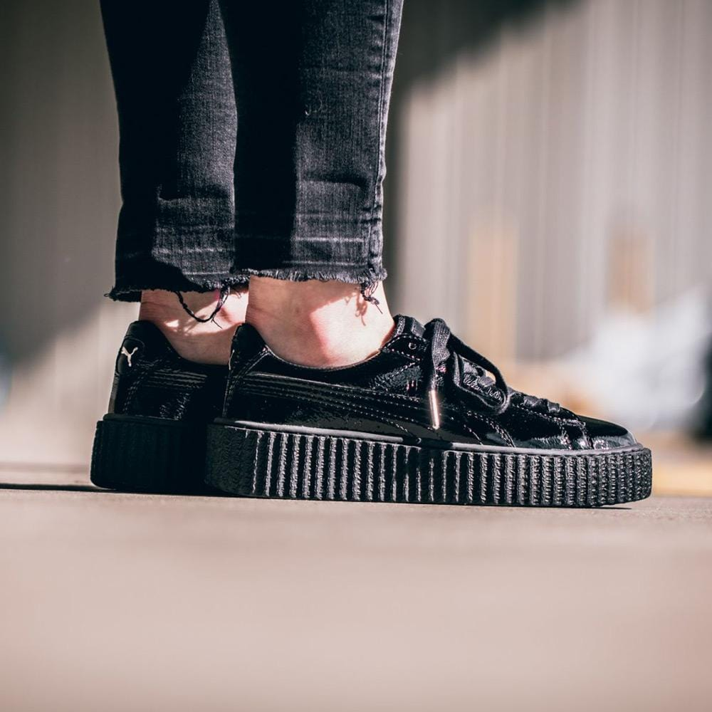 buy popular 95dd3 86ab7 PUMA x Fenty By Rihanna Creeper Cracked Leather