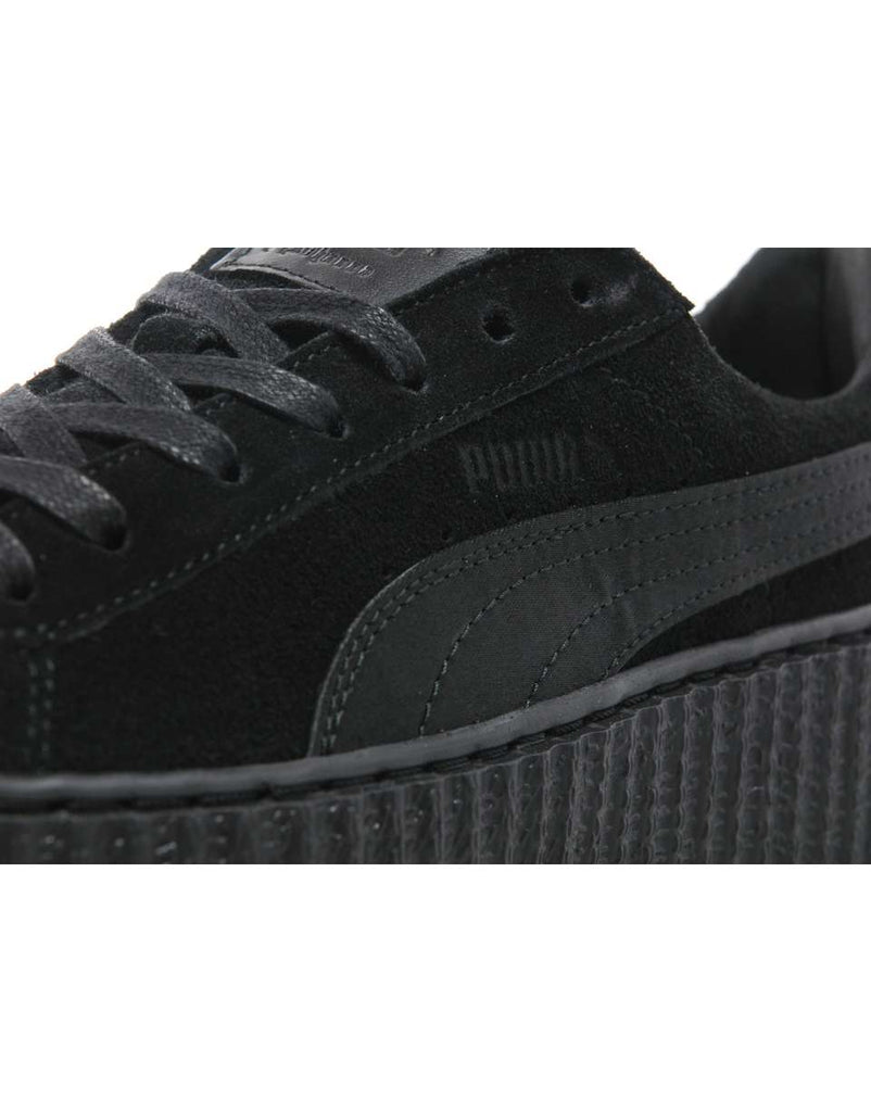 online store 276aa 251d8 PUMA x Rihanna Suede Creepers Triple Black – Kick Game