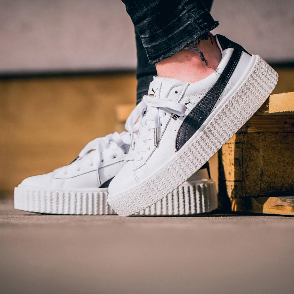 Fenty x Wmns Creeper 'White Leather' - Kick Game