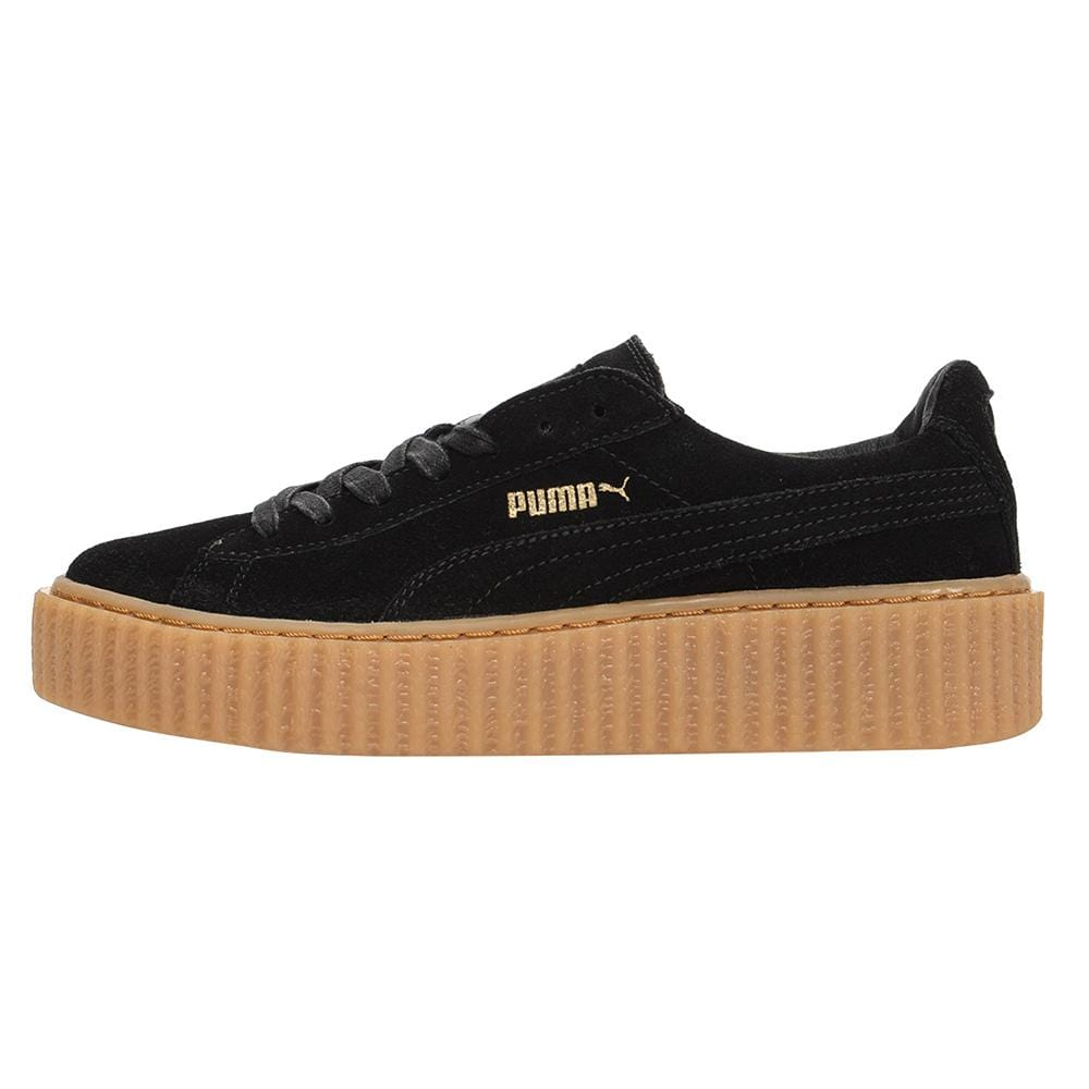 Rihanna x PUMA Suede Creeper Black-Gum - Kick Game