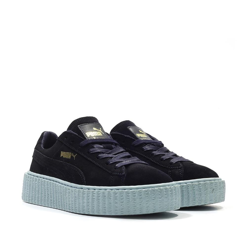 PUMA X RIHANNA SUEDE CREEPER 'PEACOAT-COOL BLUE' - Kick Game