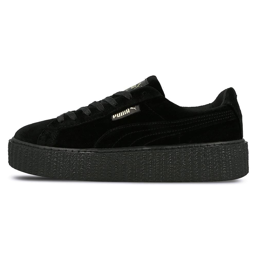 finest selection bd308 ed8fa PUMA X FENTY CREEPER VELVET Black