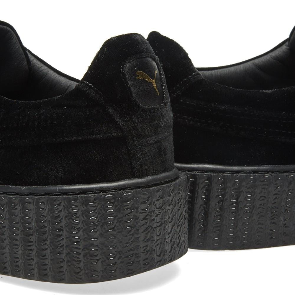 PUMA X FENTY CREEPER VELVET Black - Kick Game