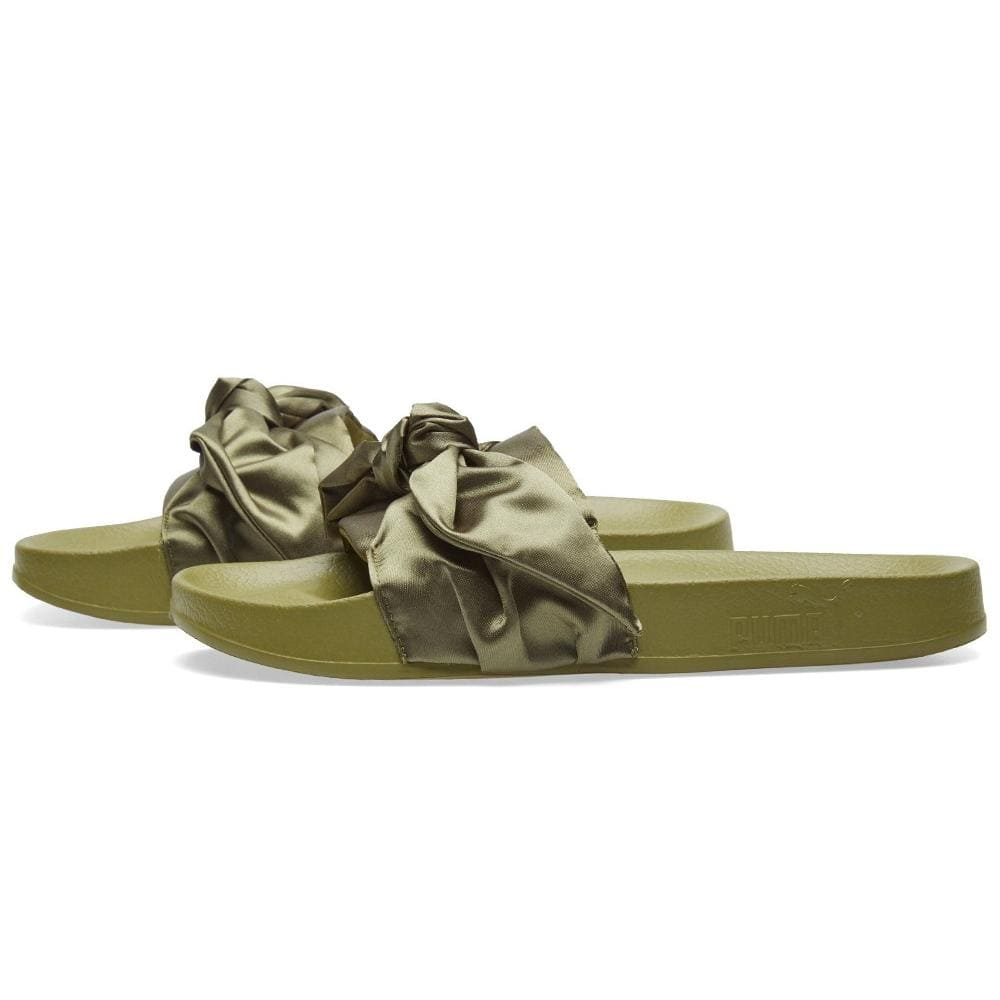 "Puma x Fenty by Rihanna Bow Slide ""Olive Branch"" - Kick Game"