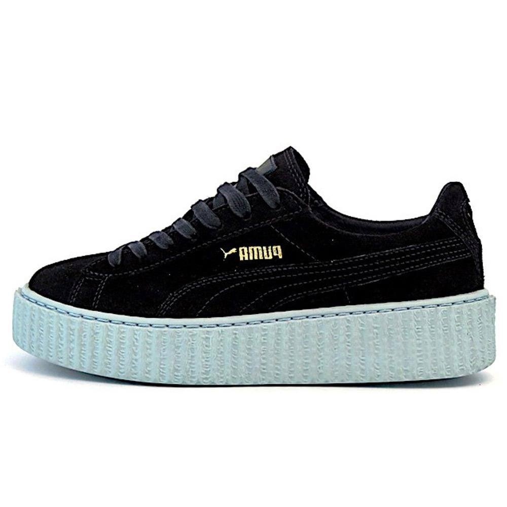 hot sale online cf864 019a1 PUMA X RIHANNA SUEDE CREEPER 'PEACOAT-COOL BLUE'
