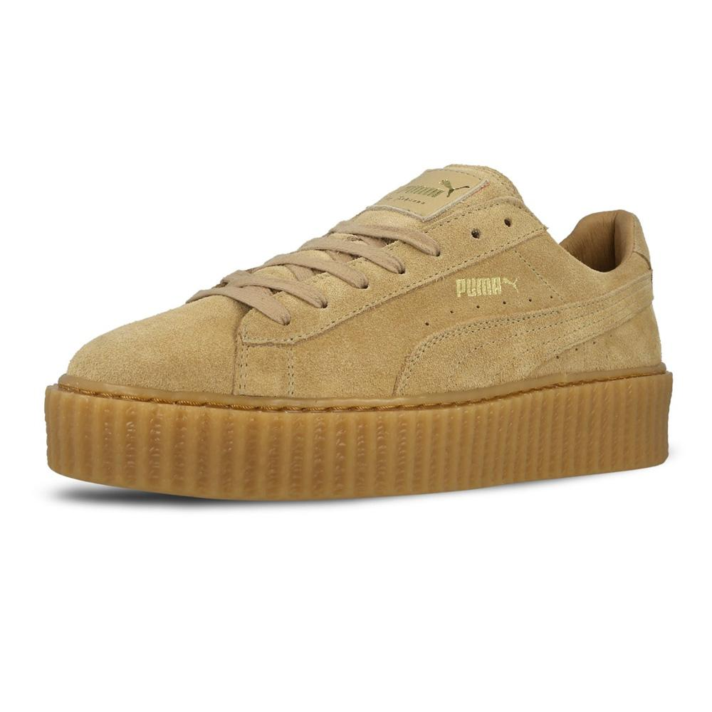 new style e8e33 0cd11 Rihanna x PUMA Suede Creeper Gum