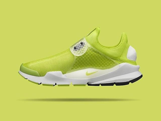 Nike Special Project Sock Dart SP Neon Yellow - Summit White - Kick Game