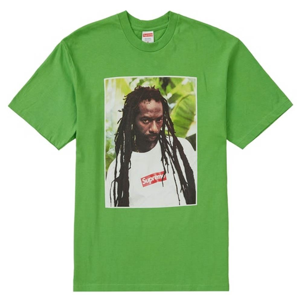 Supreme Buju Banton Tee Green - Kick Game