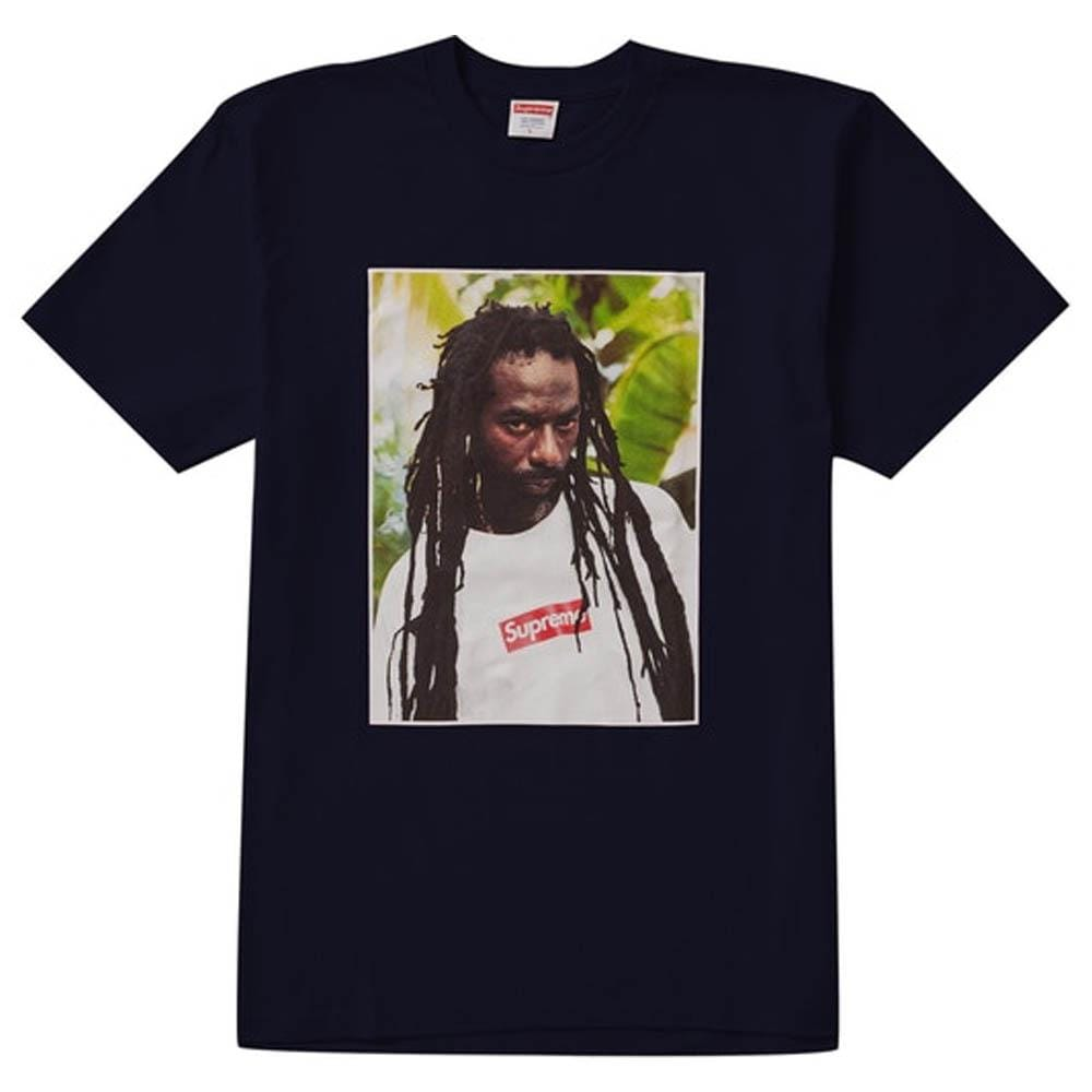 Supreme Buju Banton Tee Navy - Kick Game