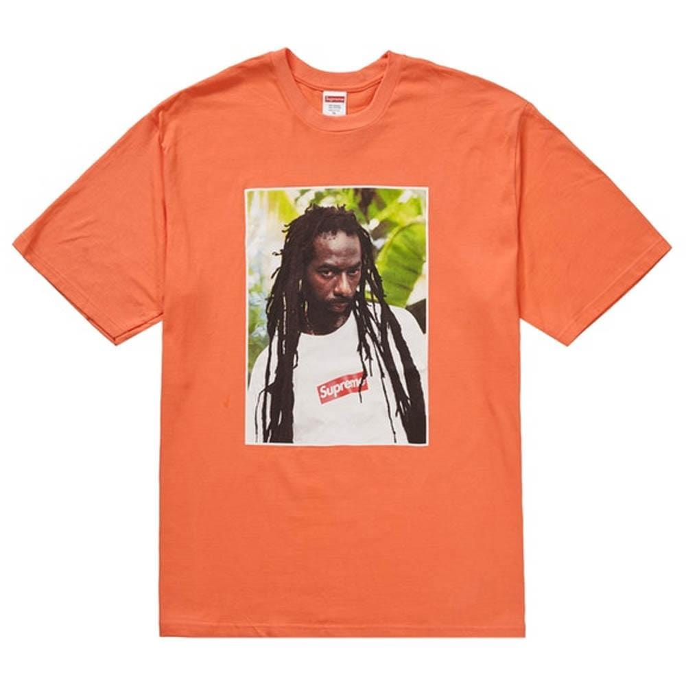 Supreme Buju Banton Tee Neon Orange - Kick Game