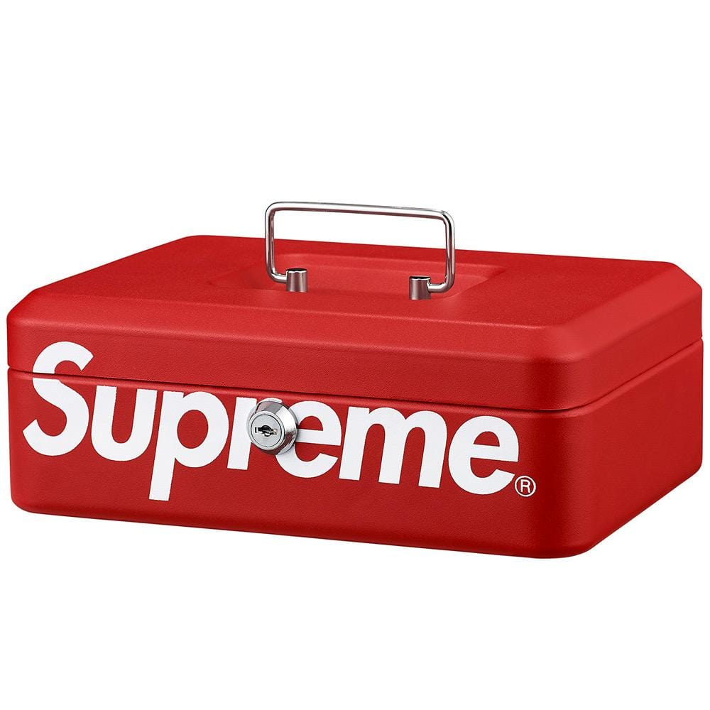 Supreme Lock Box - Red - Kick Game