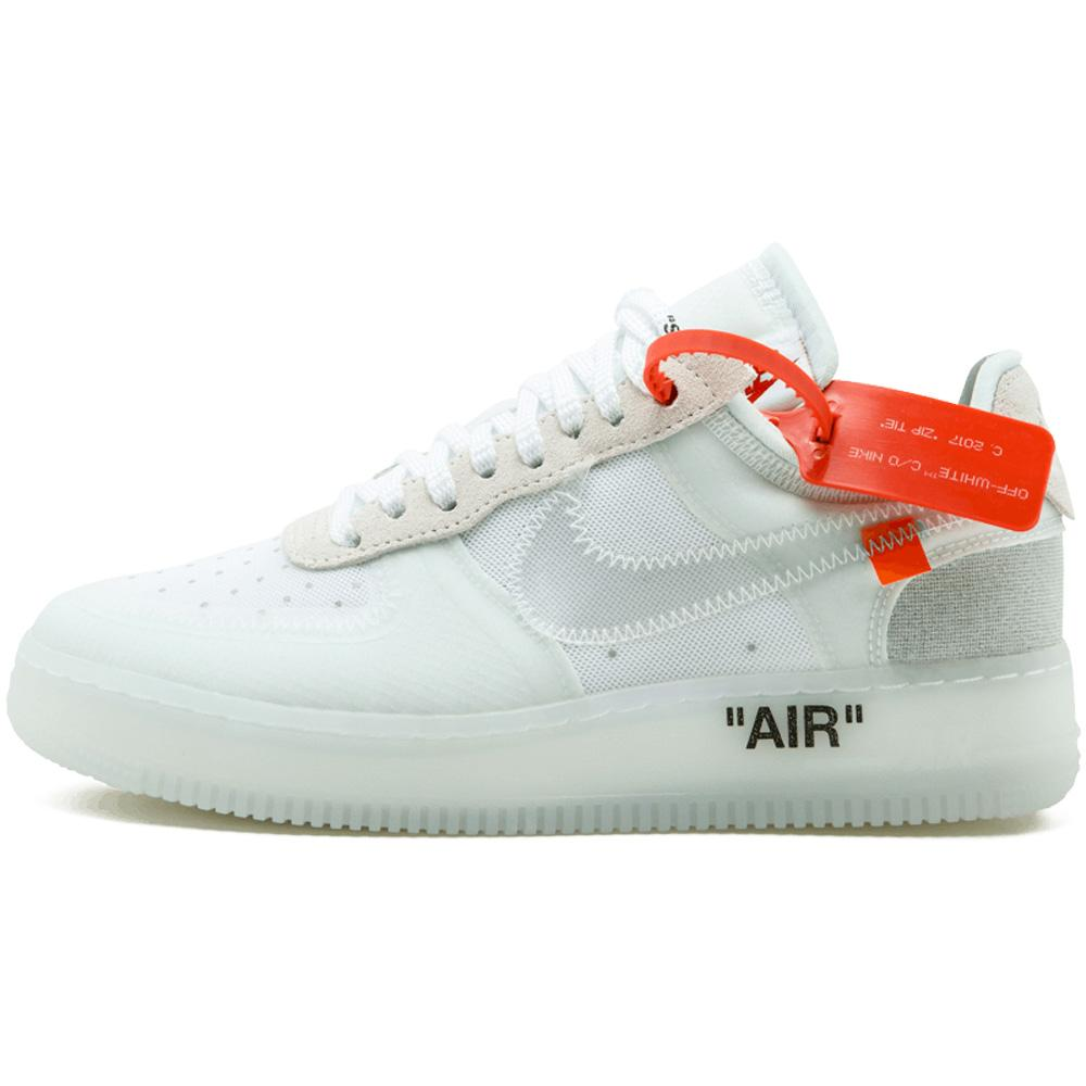 wholesale dealer 7d3b2 bd433 Off-White X Nike Air Force 1 Low - White