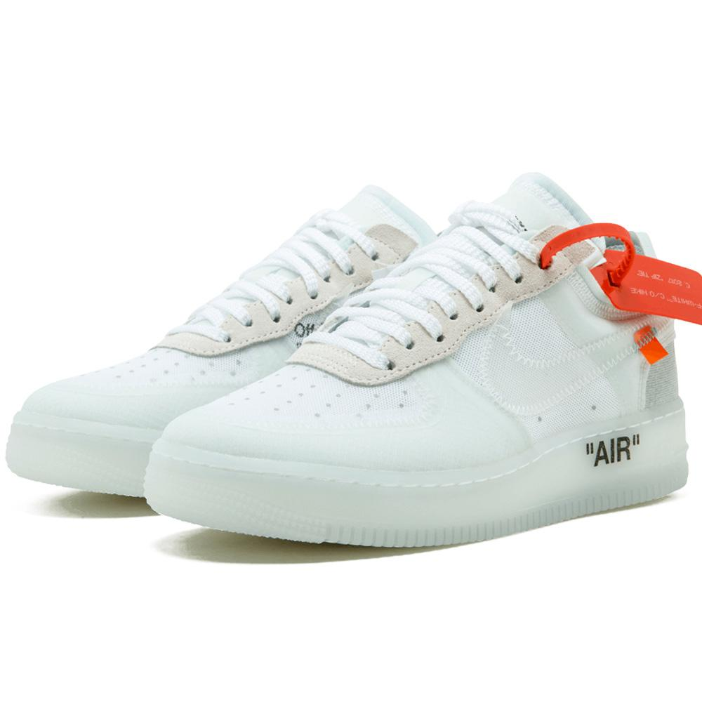 Exactitud dígito lanzador  Off-White X Nike Air Force 1 Low - White — Kick Game