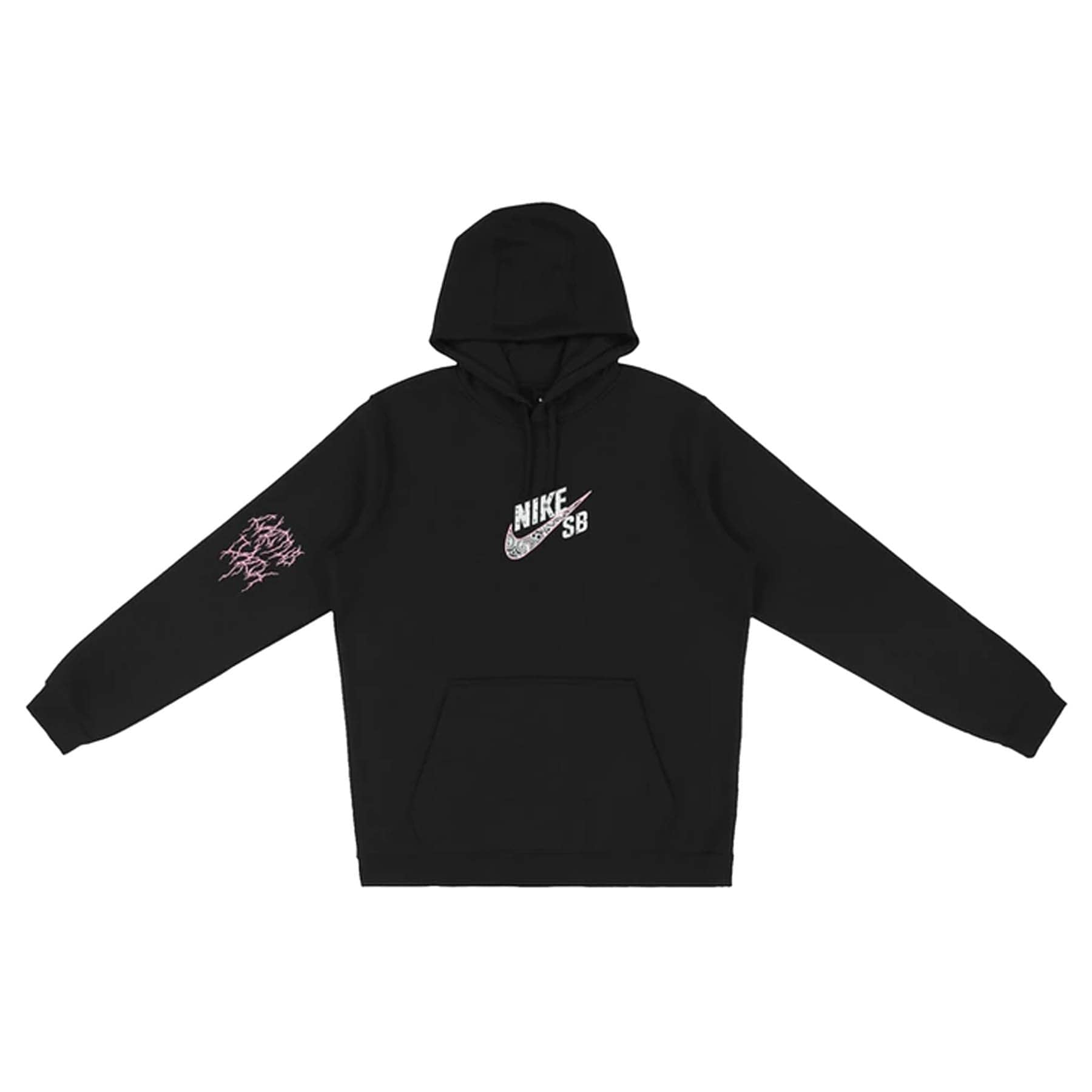 Travis Scott Cactus Jack For Nike SB Hoodie Black - Kick Game