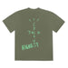 Travis Scott Jordan Cactus Jack Highest T-Shirt Olive - Kick Game