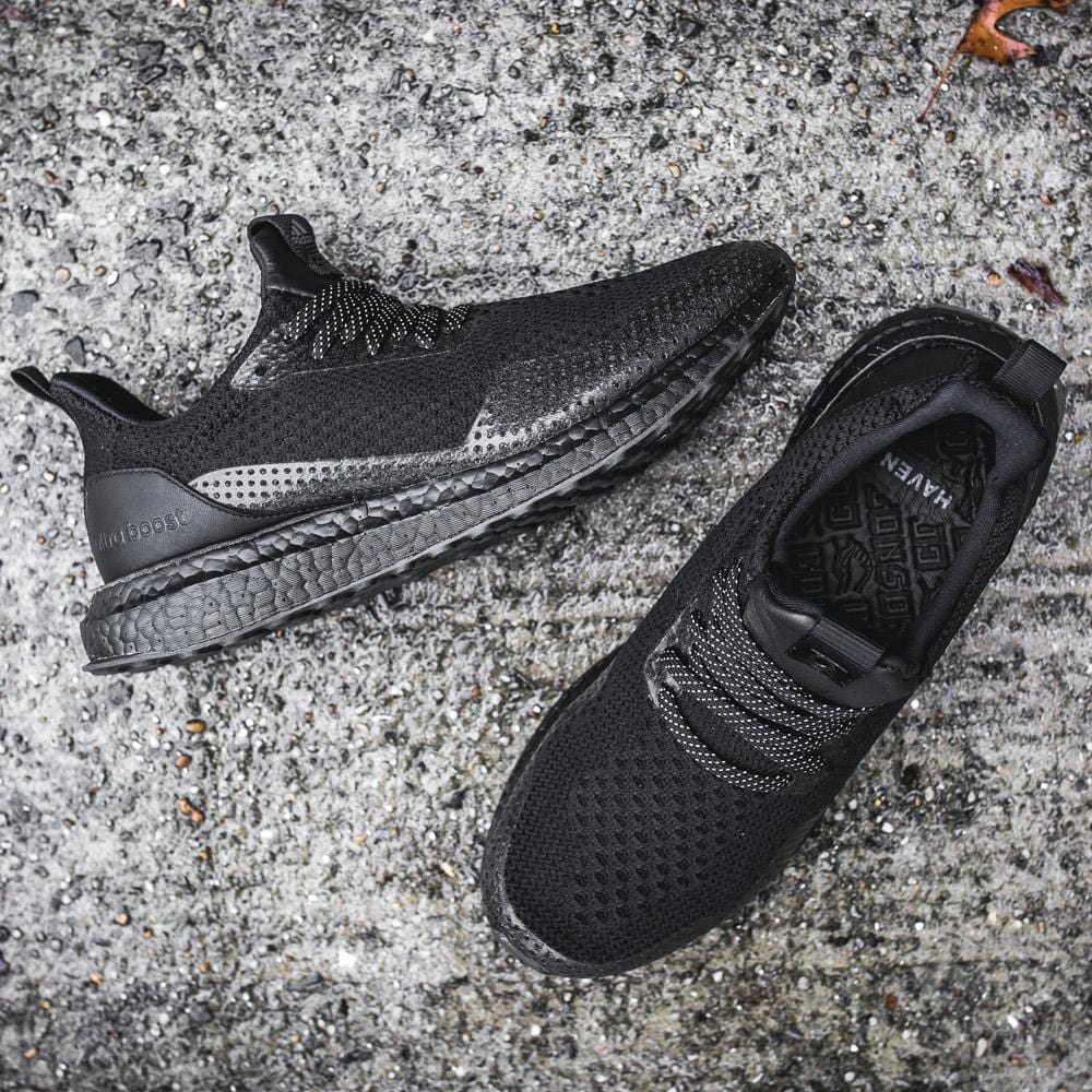 Haven x adidas Ultra Boost Uncaged Triple Black