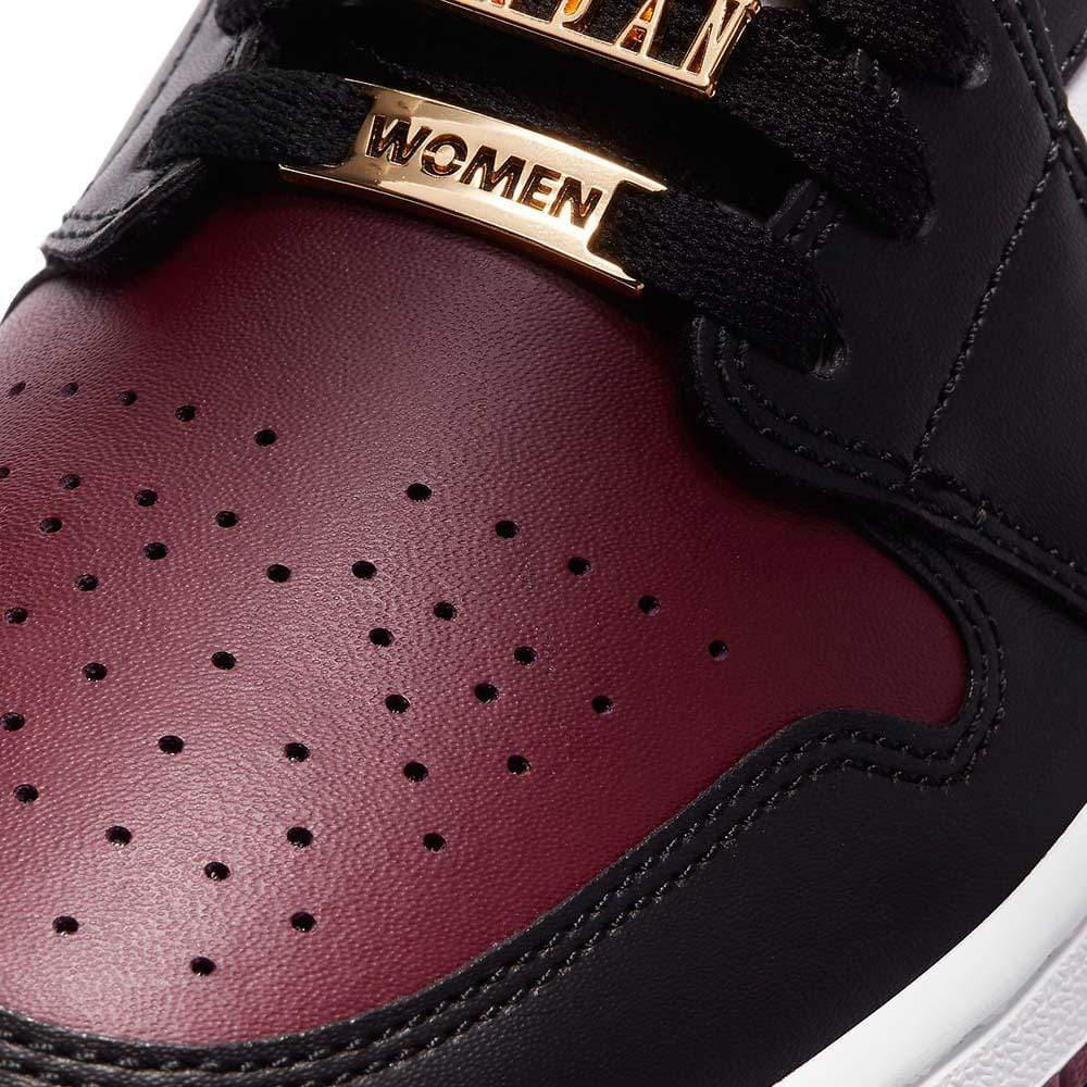 Air Jordan 1 Wmns Mid SE 'Gold Pendants' - Kick Game