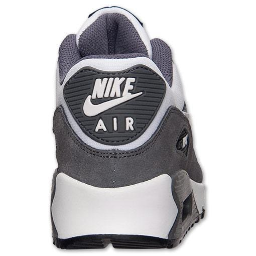 Nike Air Max 90 White-Cool Grey-Dark Grey - Kick Game