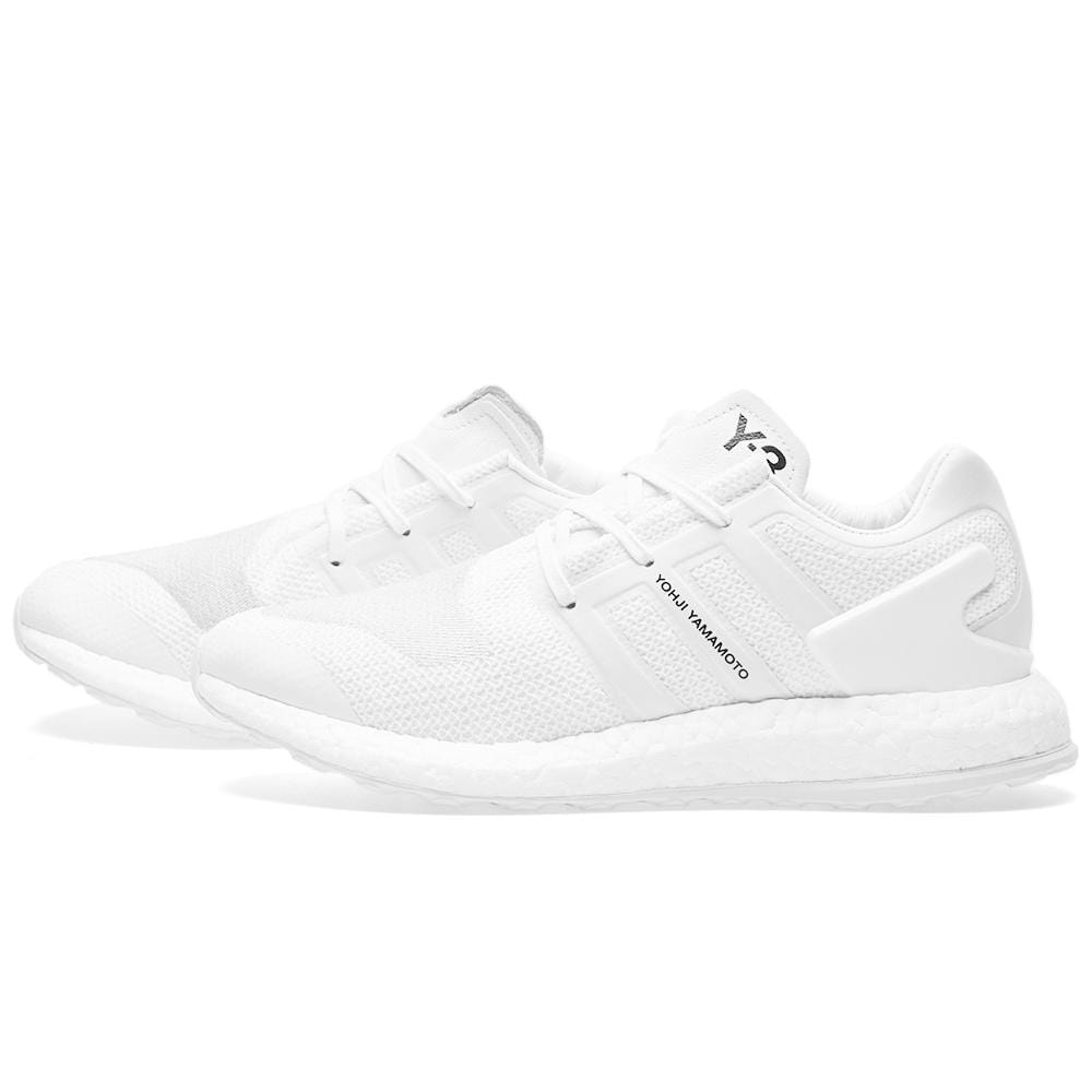 ADIDAS Y 3 PUREBOOST Triple White Ultra Pure Boost BY8955 Sz