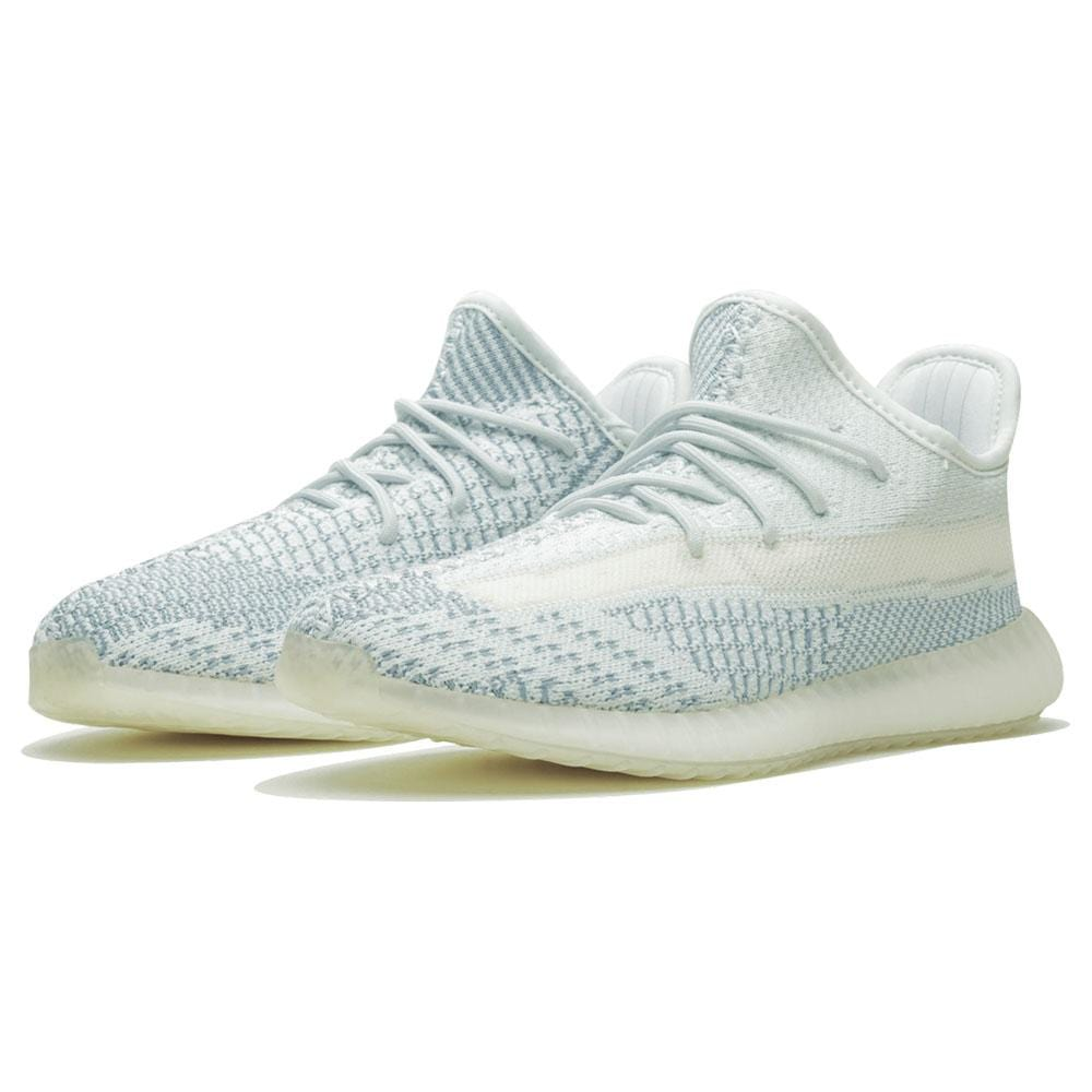 Adidas Yeezy Boost 350 V2 Kids 'Cloud White Non-Reflective' - Kick Game