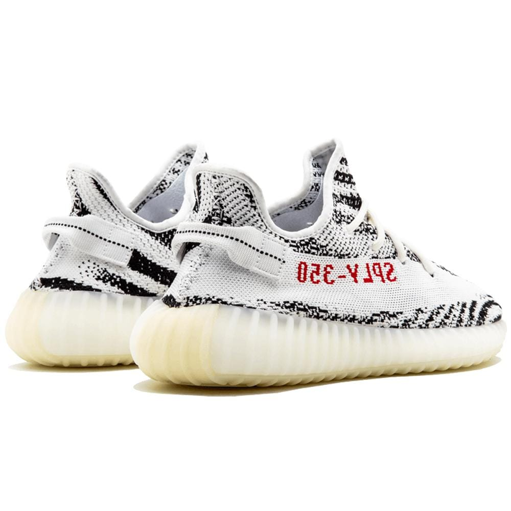 yeezy zebra yellowing sole