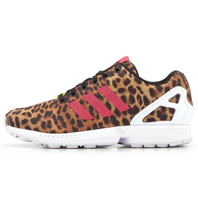 adidas Originals Womens ZX Flux 'Leopard' - Kick Game