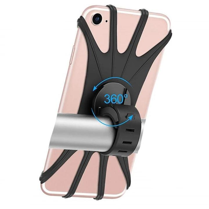 Support Moto et Scooter en Silicone