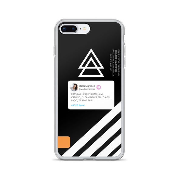 Funda personalizable para iPhone con dedicatoria
