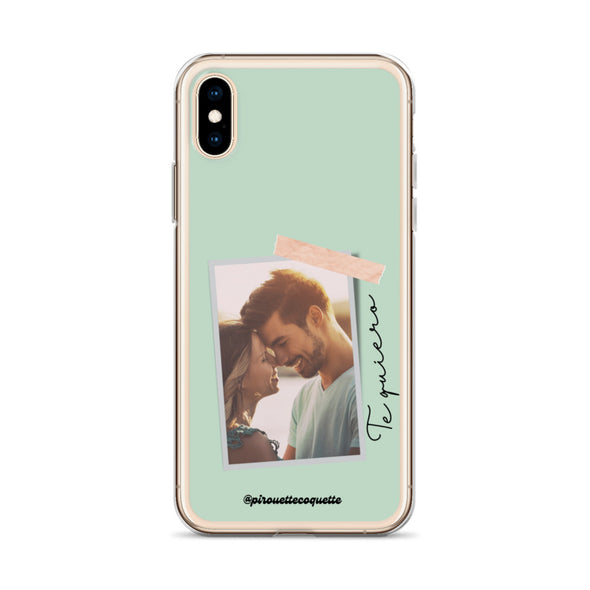 Funda personalizable para iPhone Foto Polaroid