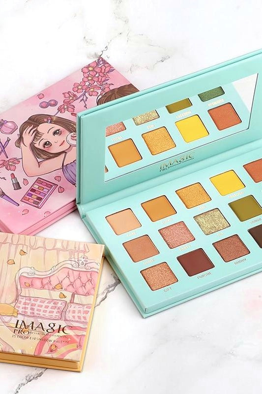 Paleta de sombras 15 colores Pretty Girls