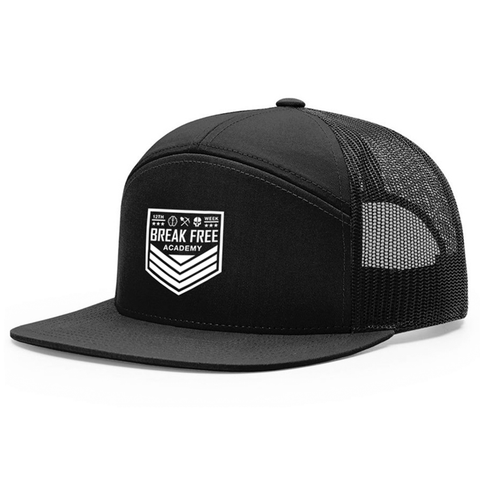 Break Free Academy 7-Panel Hat