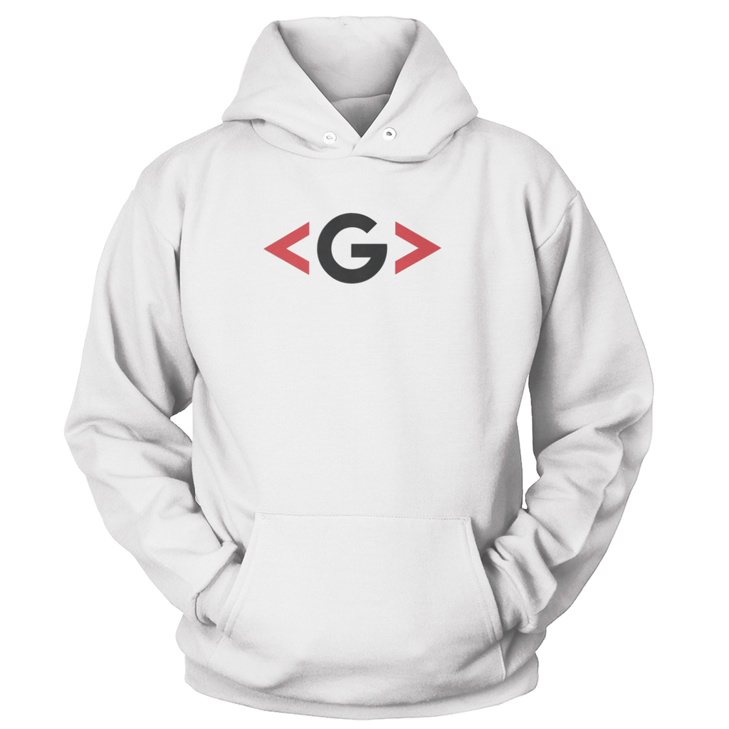 GCODE Sharp Brackets Light Hoodie