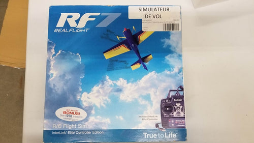 Simulateur de vol RF Realflight / OGPMZ4500