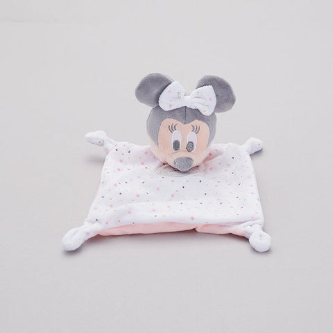 Doudou Minnie Disney® Rose et Blanc