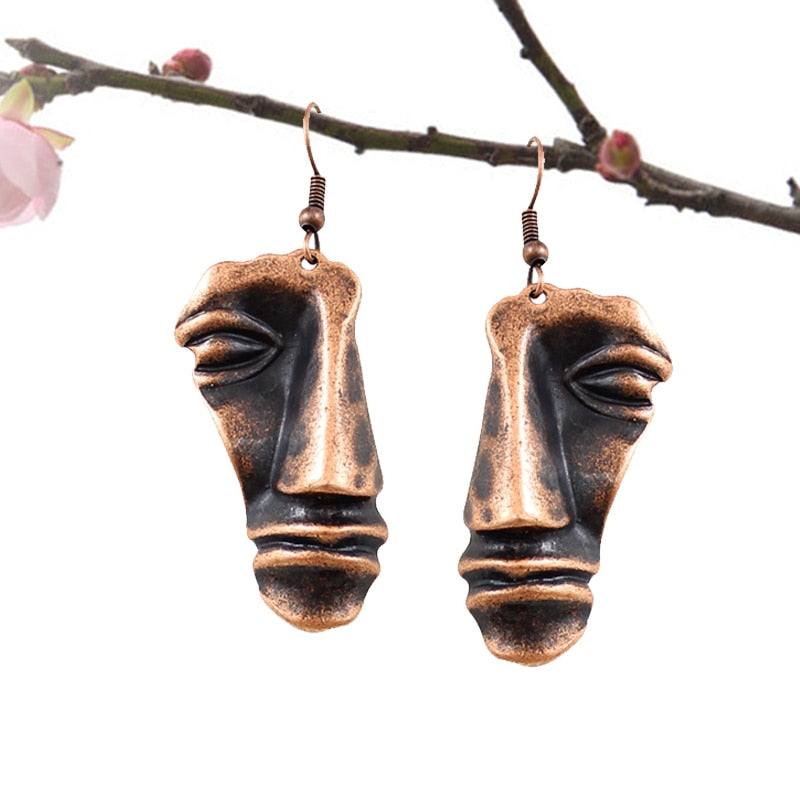 Picasso's Head of a Man Earrings