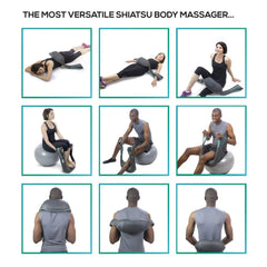 InstaShiatsu+ Neck and Back Massager with Heat